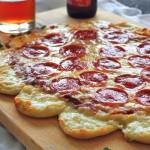 Сумасшедная сырная пицца