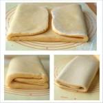 ✔     Слоеное тесто для «Наполеона»