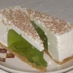 ✔     Желейный тортик из киви и сметаны без выпечки