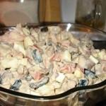 ✔     Салат из куриной печени с помидорами