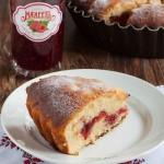 Воздушный ягодный пирог