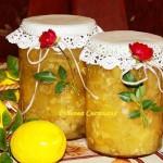 ✔ Кабачковое варенье с лимоном .