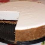 Не любите приторные торты? Это блюдо для Вас! Творожный торт с шоколадом