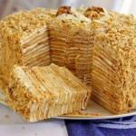✔     Торт «Пизанская башня»