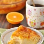 Апельсиновый пирог с тестом фило