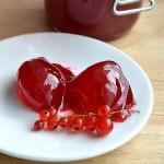 ✔  Элементарное желе из красной смородины