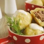 ✔  Клецки с мясом, очень просто и вкусно!