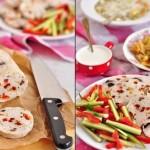Куриный рулет с оливками, вялеными томатами и фисташками (диетический)