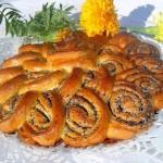 ✔     Пирог с маком