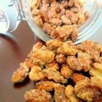 ✔  Сладкие орехи с корицей