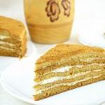 ✔ Торт Медовик. Вкуснейший торт из медового теста со сметанным кремом.