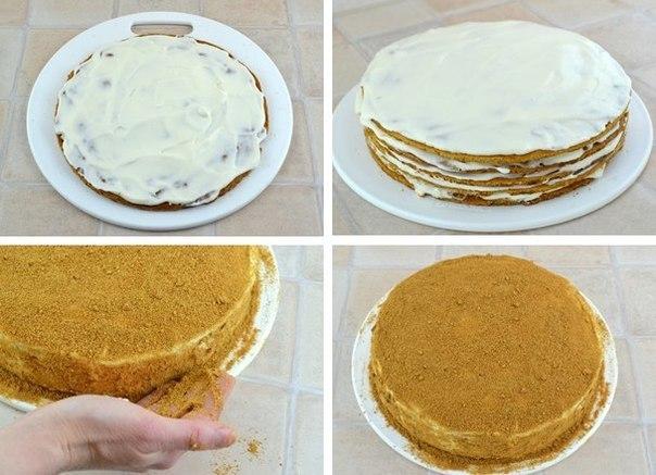 Торт с медом рецепт пошагово