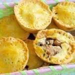 ✔  Закрытые тарталетки с курицей, грибами и шпинатом