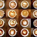 ✔   Coffee art