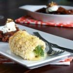 ✔  Хрустящие куриные рулетики с брокколи и сыром