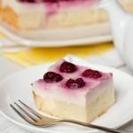 ✔  Пирог с вишней и заварным кремом