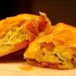 ✔  Пирожки с яйцами и ветчиной