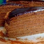 ✔    Шоколадный медовик «Дамский каприз»
