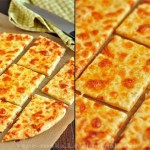 Сырно-чесночная пицца