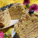 ✔  Торт «Творожный» на сковороде