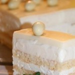 ✔  Торт «Опера в белом»