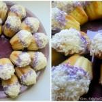 ✔  Кокосовые «Мадлен» с малиновым сиропом