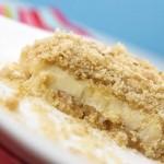 ✔  Нежные лимонные пирожные с овсяными хлопьями и кремом из сгущенки