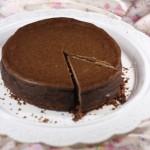 ✔  Шоколадно-кофейный чизкейк с бесподобной вафельно-кокосовой основой