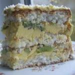 ✔  Торт «Кокосовый»