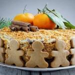 ✔  Торт «Медовик»