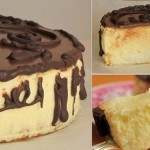Торт «Птичье молоко» с лимонным вкусом