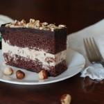 ✔    Шоколадно-ореховый торт-мороженое