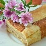 ✔   Блинный террин с ароматной яблочной начинкой