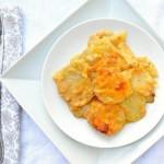 Картофель, запеченный в сырном соусе