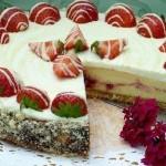 ✔     Торт «Белоснежка»