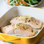 ✔  Здоровый ужин за 30 минут — запеченное филе лосося