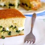 ✔ Быстрый заливной пирог с луком и яйцом