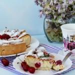 ✔  Творожный пирог с вишней