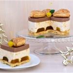 ✔ Яблочно-шоколадный торт-суфле
