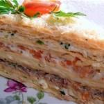 ✔     Торт «Закусочный наполеон»