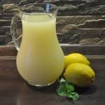 Лимонад домашний — с мятой и медом
