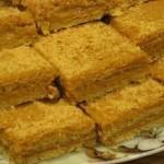 «Медово-апельсиновые пирожные со сгущенкой»