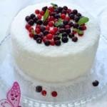 Торт-мусс «Смородиновое настроение»