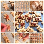 Имбирное печенье «Мишки с орешками».