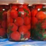 Маринованные помидоры «Людмила».