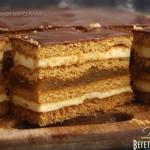 Медовое пирожное с начинкой