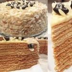 Медовый торт «Пчелкин дом»