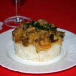 Рецепт куриных желудков тушеных в сметане