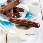 Шоколадные палочки.