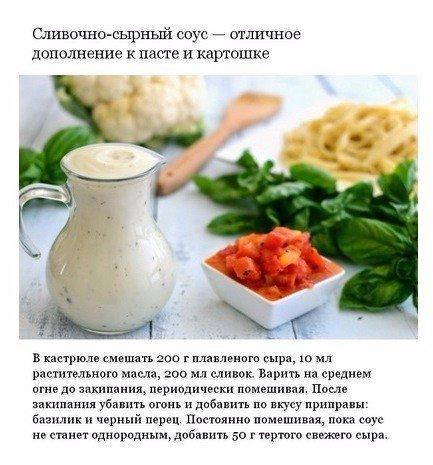 Соусы для пасты рецепты в домашних условиях пошагово